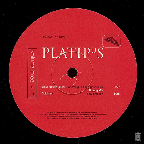 Various Artists - Platipus Records 3: Side A