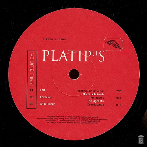 Various Artists - Platipus Records 3: Side B