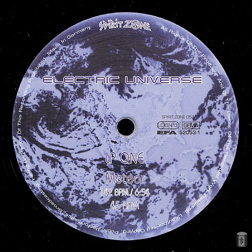 Electric Universe - Blue Planet: Side B