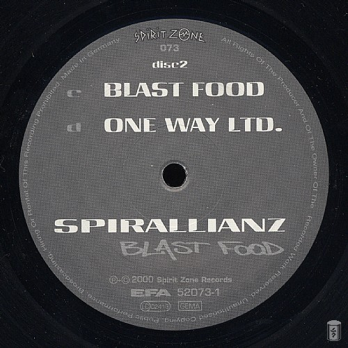 Spirallianz - Blast Food: Side C