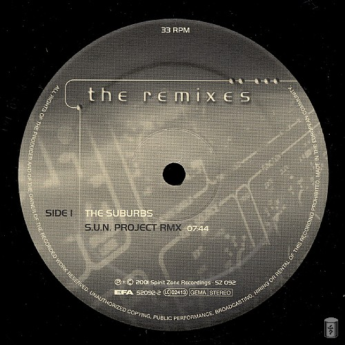 S.U.N. Project - The Remixes: Side A