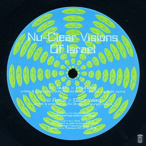 Various Artists - Nu-Clear Visions Of Israel: Side A