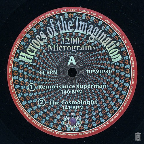 1200 Mics - Heroes Of The Imagination: Side A