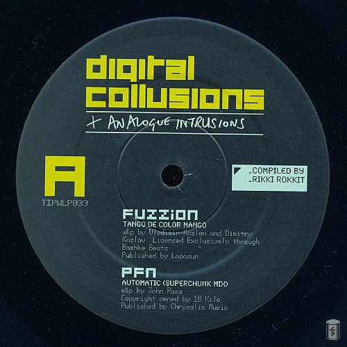 Various Artists - Digital Collusions + Analogue Intrusions: Side A