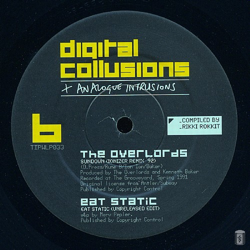 Various Artists - Digital Collusions + Analogue Intrusions: Side B