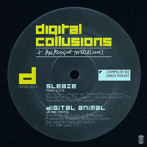 Various Artists - Digital Collusions + Analogue Intrusions: Side D