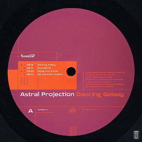 Astral Projection - Dancing Galaxy: Side A