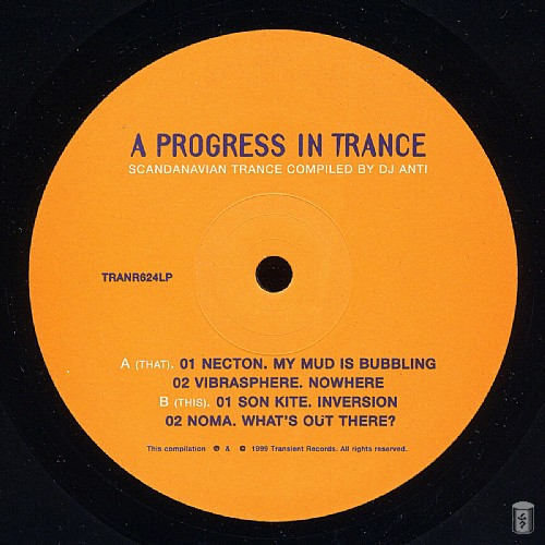 Various Artists - A Progress In Trance: Side A