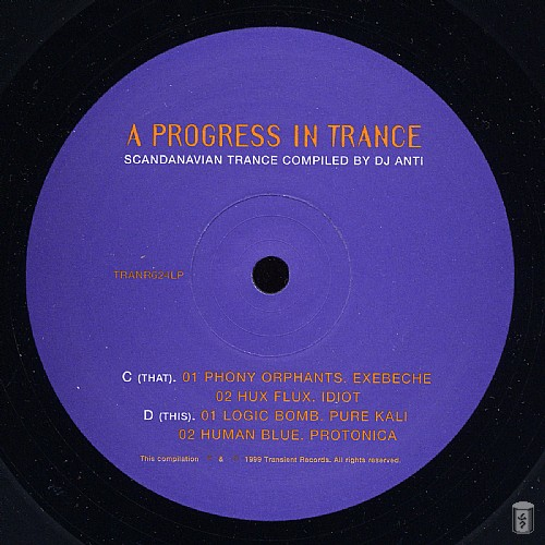 Various Artists - A Progress In Trance: Side C