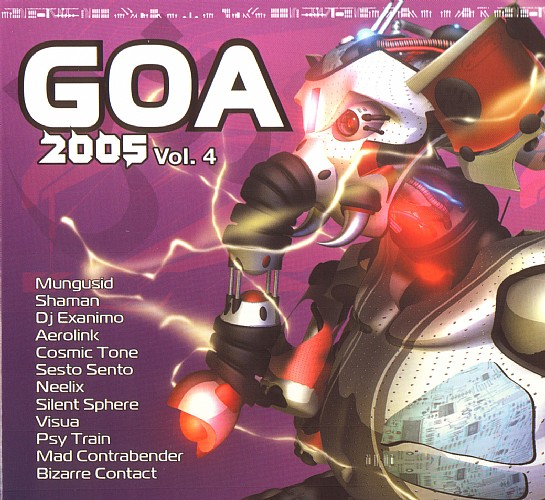 Various Artists - Goa 2005 vol 4: Front