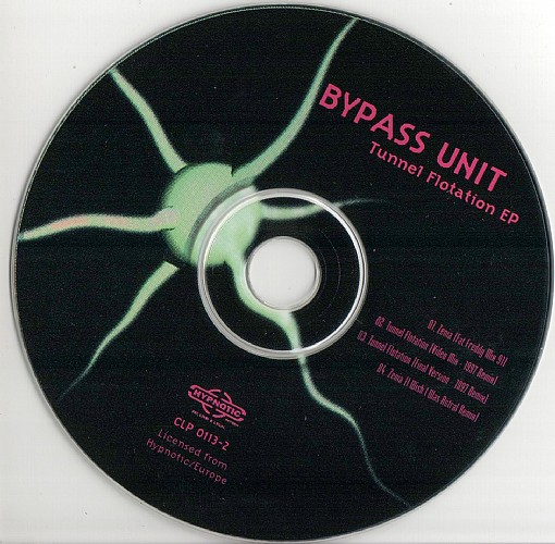 Bypass Unit - Tunnel Flotation EP: CD