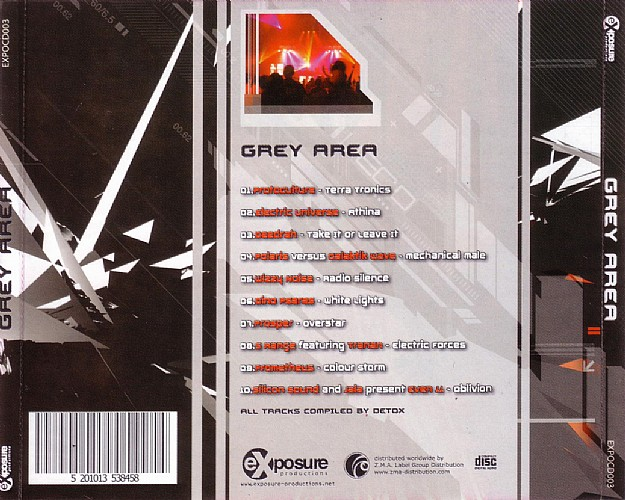 Various Artists - Grey Area: Back