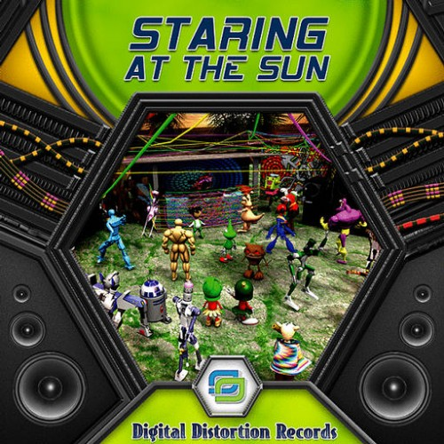 Various Artists - Staring At The Sun: Front