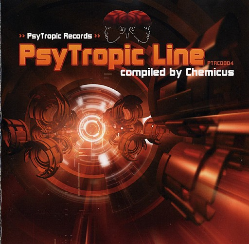 Various Artists - PsyTropic Line: Front