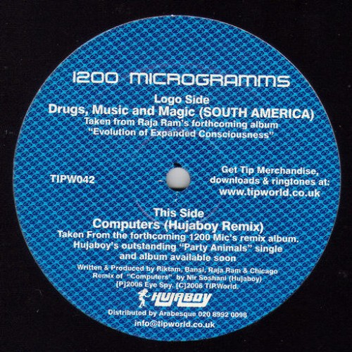 1200 Mics - Drugs, Music & Magic EP: Front