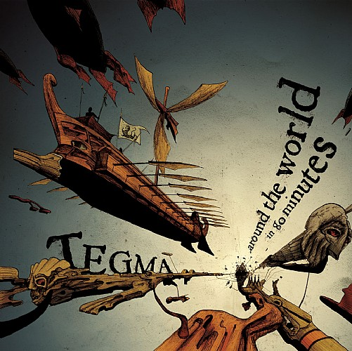 Tegma - Around The World In 80 Min: Front