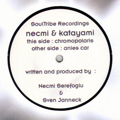 Necmi & Katayami - Anies Car EP: Side A