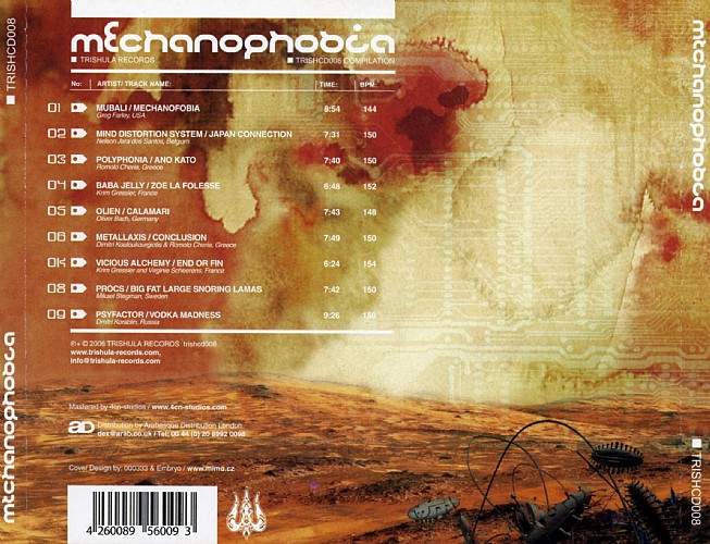 Various Artists - Mechanophobia: Back