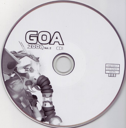 Various Artists - Goa 2006 vol 2: CD
