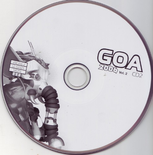 Various Artists - Goa 2006 vol 2: CD 2