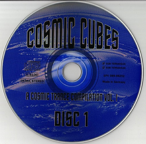 Cosmic cubes 1 cd 1994 at psydb various artists cosmic cubes 1 cd malvernweather Images