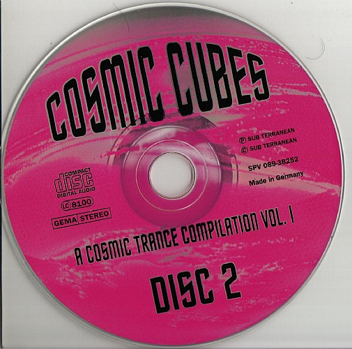 Cosmic cubes 1 cd 1994 at psydb various artists cosmic cubes 1 cd 2 malvernweather