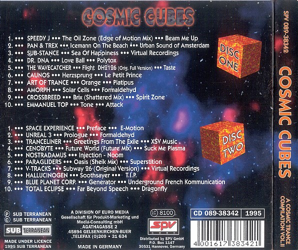 Various Artists - Cosmic Cubes 2: Back