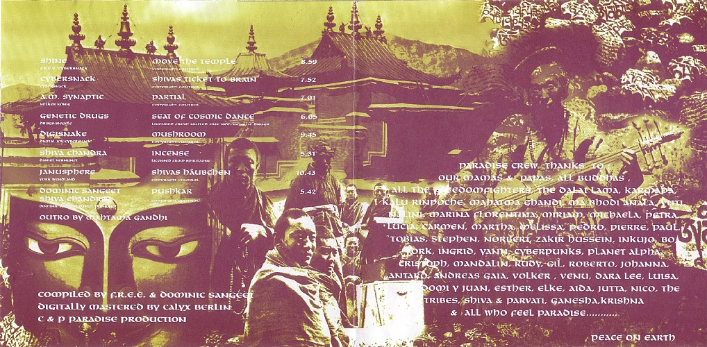 Various Artists - Mahasiddhi - Paradise Ambient & Tribal Journey: Inside