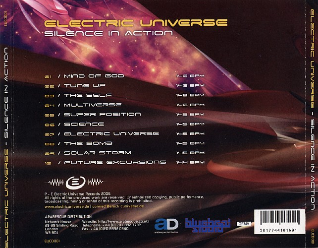 Electric Universe - Silence In Action: Back