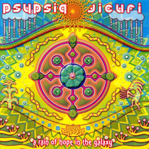 Psypsiq Jicuri - A Rain Of Hope In The Galaxy: Front