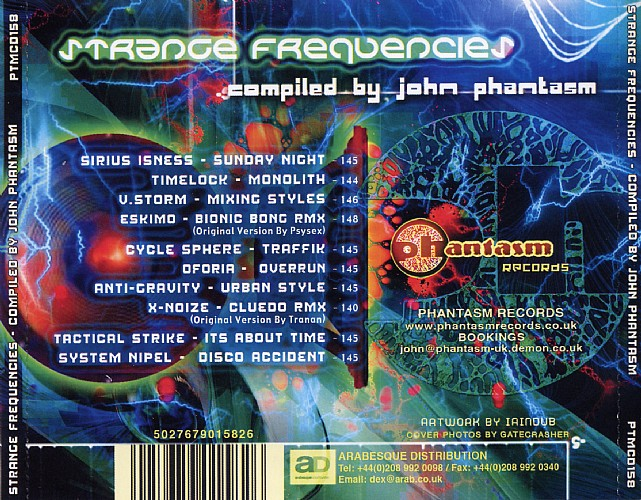 Various Artists - Strange Frequencies: Back