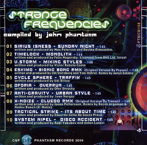 Various Artists - Strange Frequencies: Inside 2