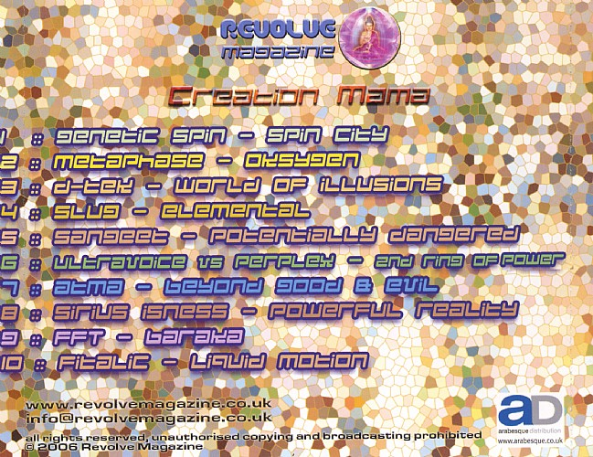 Various Artists - Creation Mama: Back