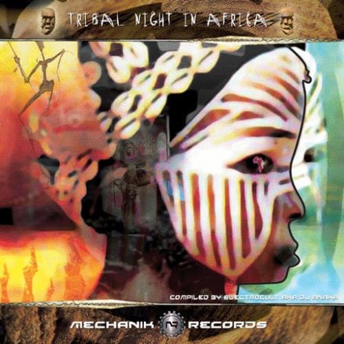 Various Artists - Tribal Night In Africa: Front