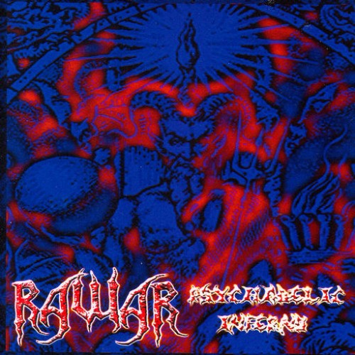 Rawar - Psychedelic Inferno, Black Book I: Front