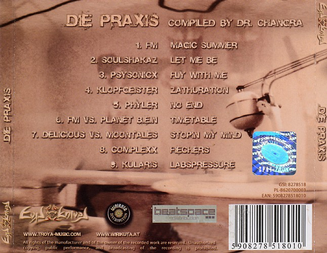 Various Artists - Die Praxis: Back