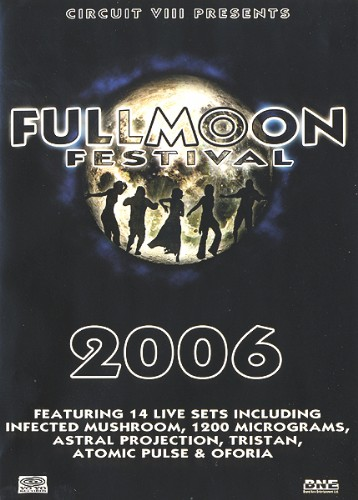 Various Artists - Fullmoon Festival 2006: Front