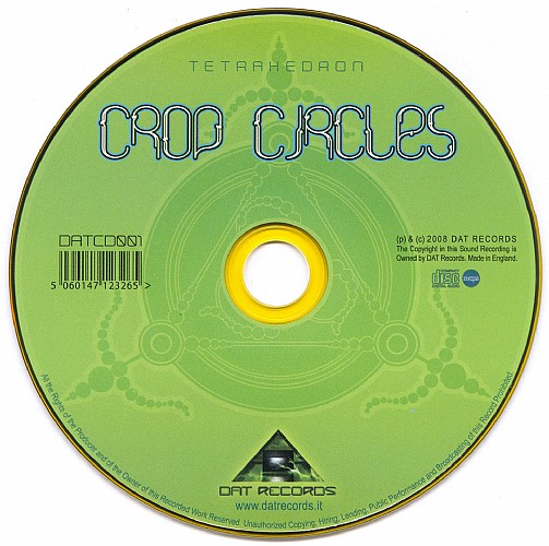 Crop Circles - Tetrahedron: CD
