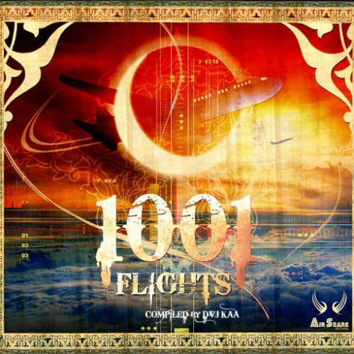 Various Artists - 1001 Flights - Compiled by Djv Kaa: Front