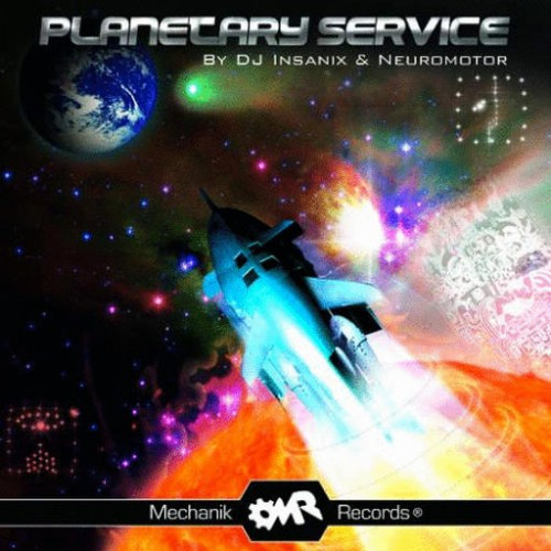 Various Artists - Planetary Service: Front