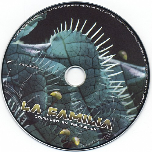 Various Artists - La Familia - Selected By DJ Astralex: CD