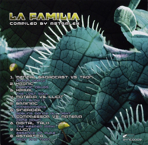 Various Artists - La Familia - Selected By DJ Astralex: Inside 2