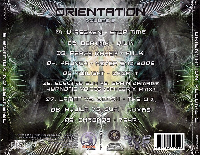 Various Artists - Orientation 5: Back