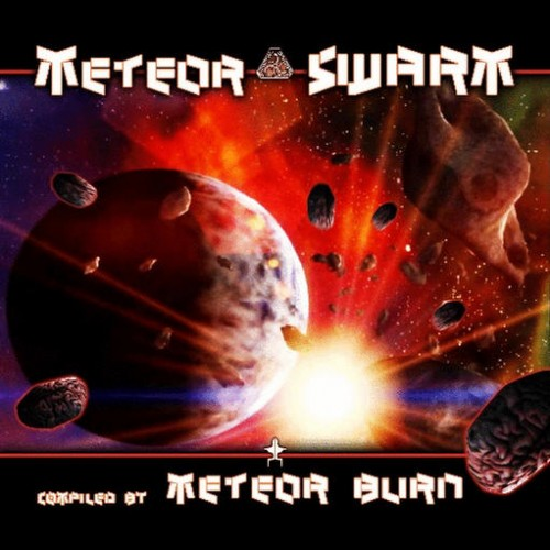 Various Artists - Meteor Swarm - Compiled By Meteor Burn: Front
